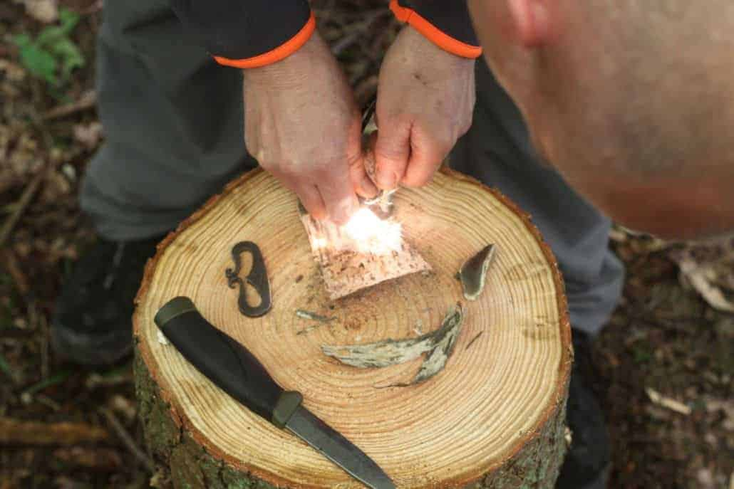 Bushcraft course from Wildway Bushcraft