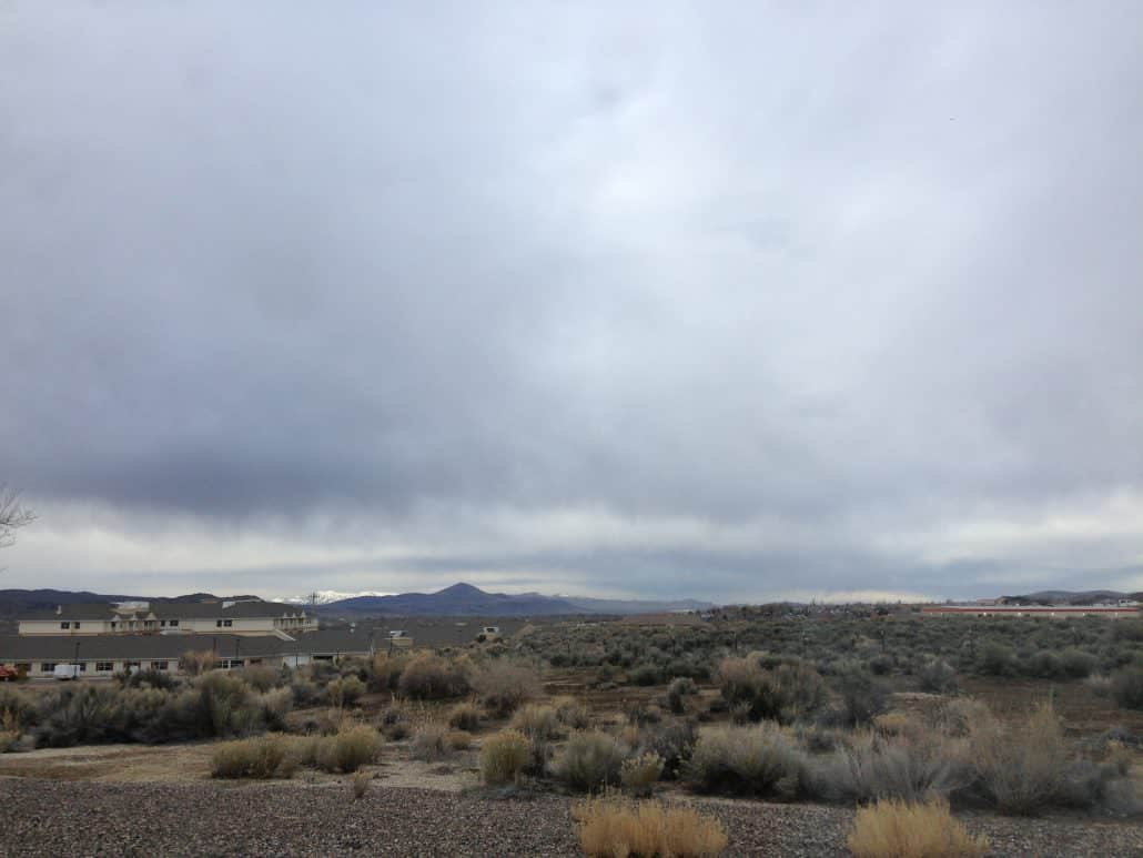 Predicting the weather Stratus clouds
