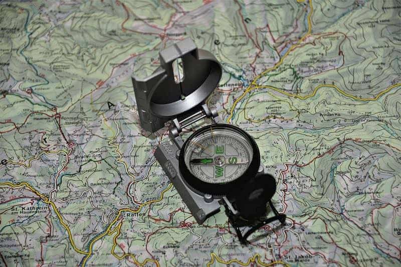 Finding North without a map or compass
