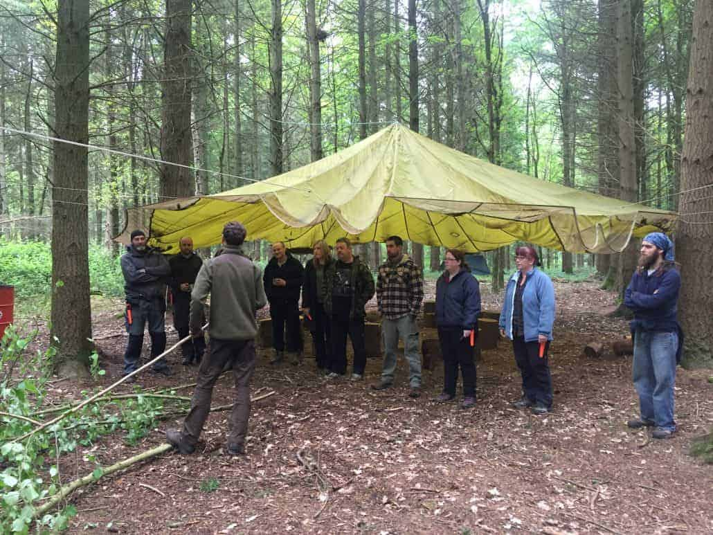 refresh your bushcraft courses UK Dorset Hampshire