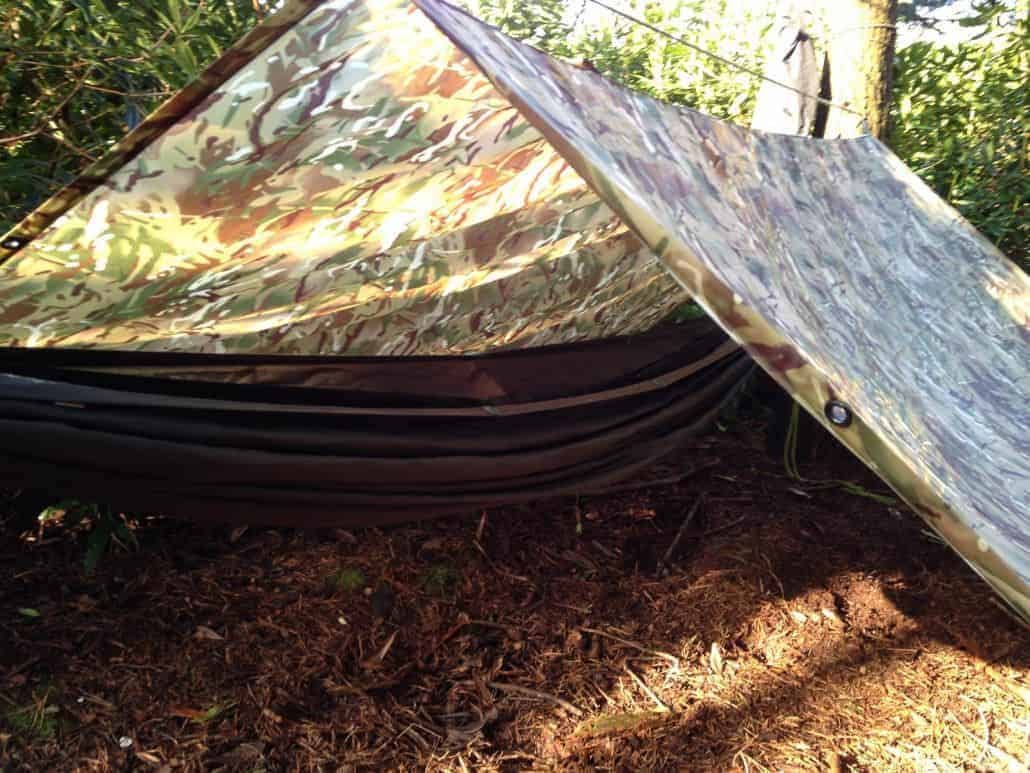 Tarp set-ups, how to set up a tarp from Wildway Bushcraft