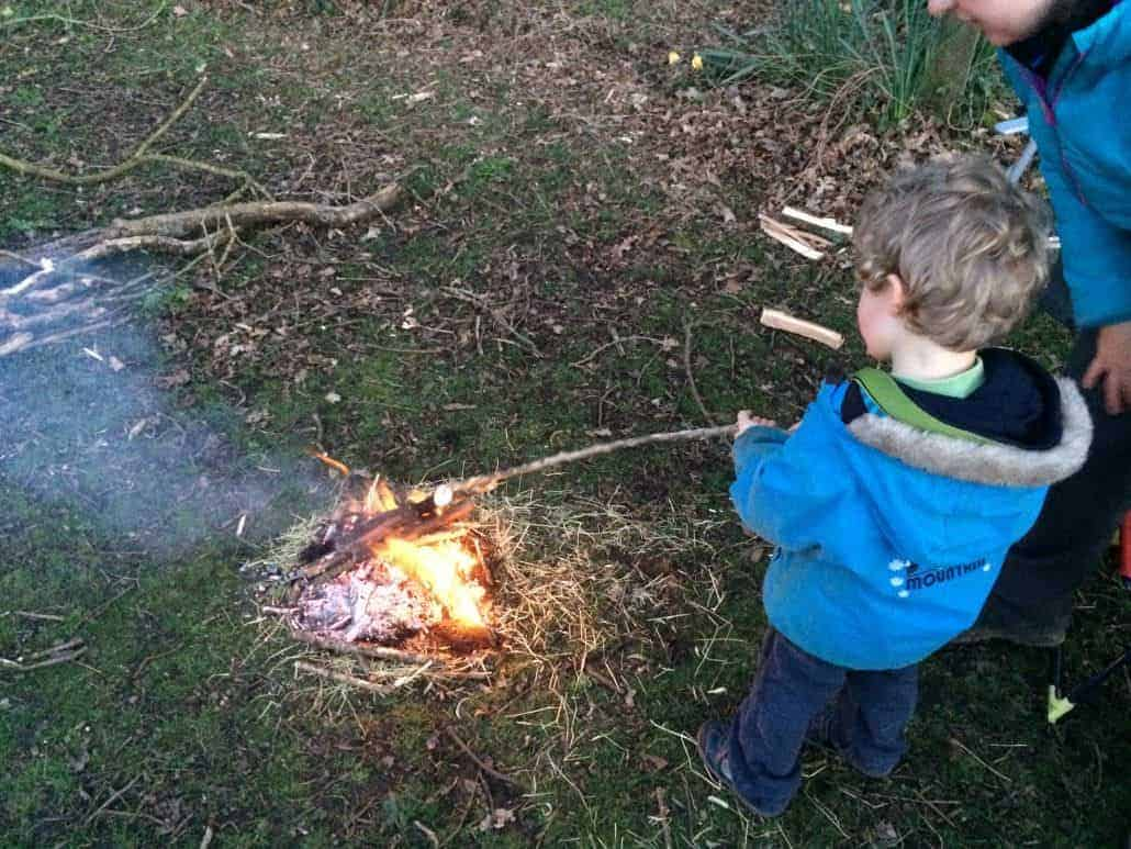 Family bushcraft course