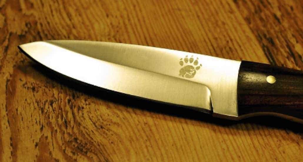 Sharpen your bushcraft knife
