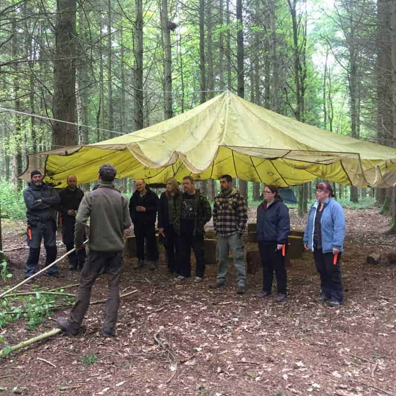 Long-term shelter building
