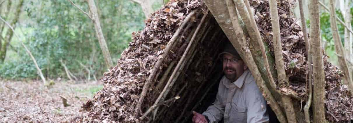 Weekend bushcraft courses UK Dorset Hampshire