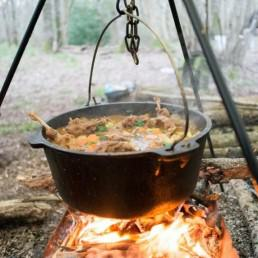 Bushcraft cooking in the UK with Wildway Bushcraft