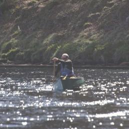 River Spey canoe
