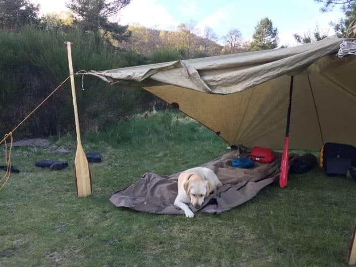 Sleep anywhere bushcraft bivvy