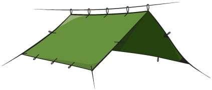 tarp set up