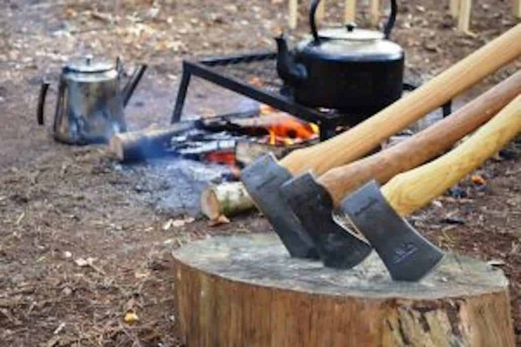 Join Wildway Bushcraft on a weekend bushcraft course