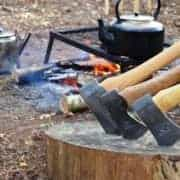 Looking after your axe bushcraft skills from Wildway Bushcraft