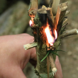 Friction fire lighting UK