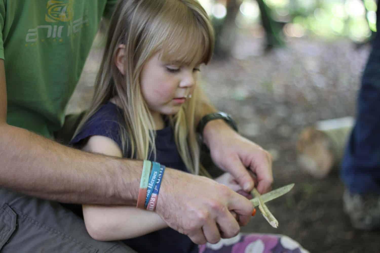 family bushcraft course
