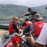 Basic safety when canoeing