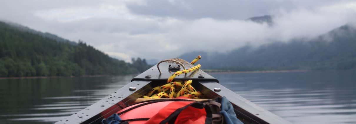 Wildway Bushcraft river Spey