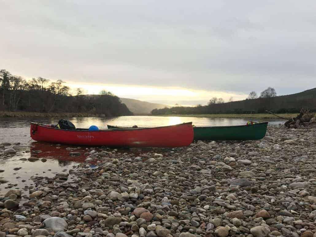 Bushcraft canoeing trips