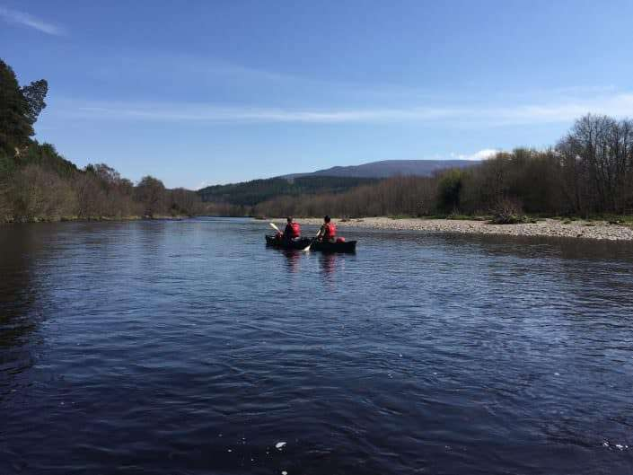 Foraging on Scotland canoe trip