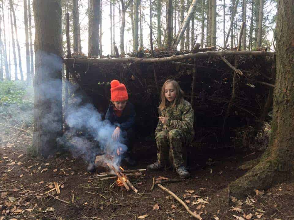 Bushcraft for schools courses from Wildway Bushcraft