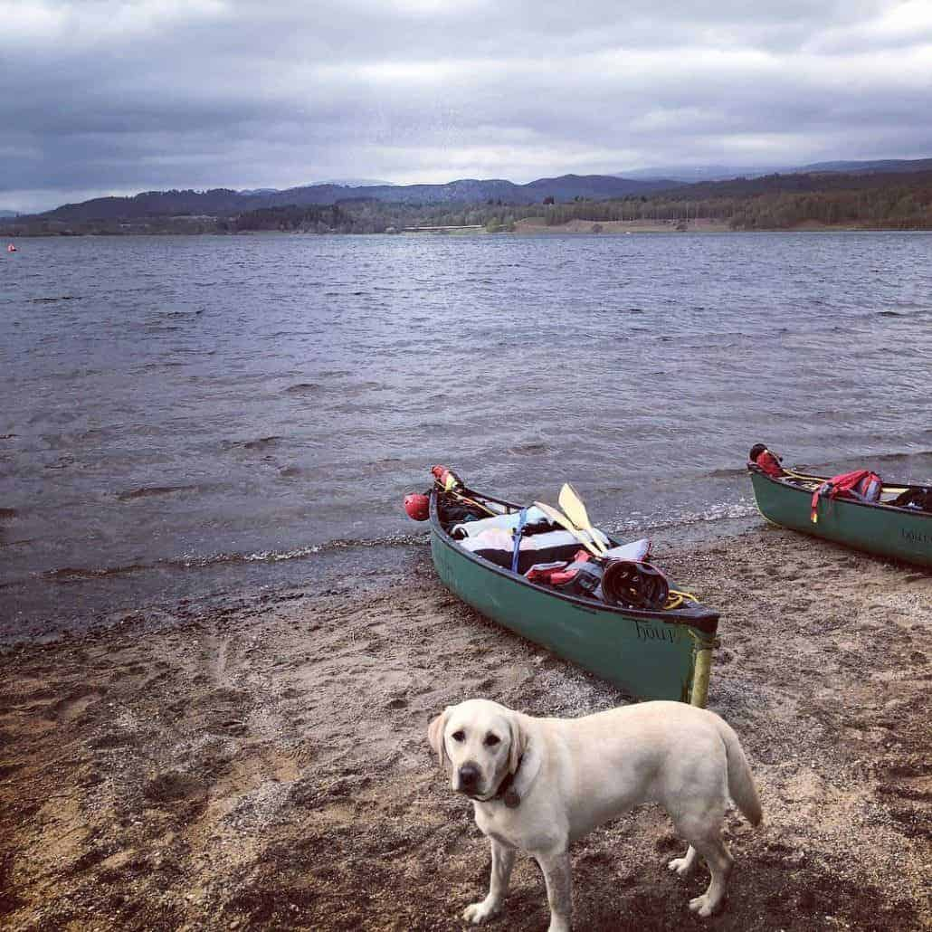 Canoeing prep