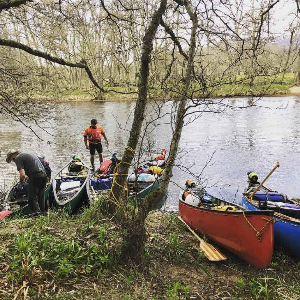 Canoeing preparation
