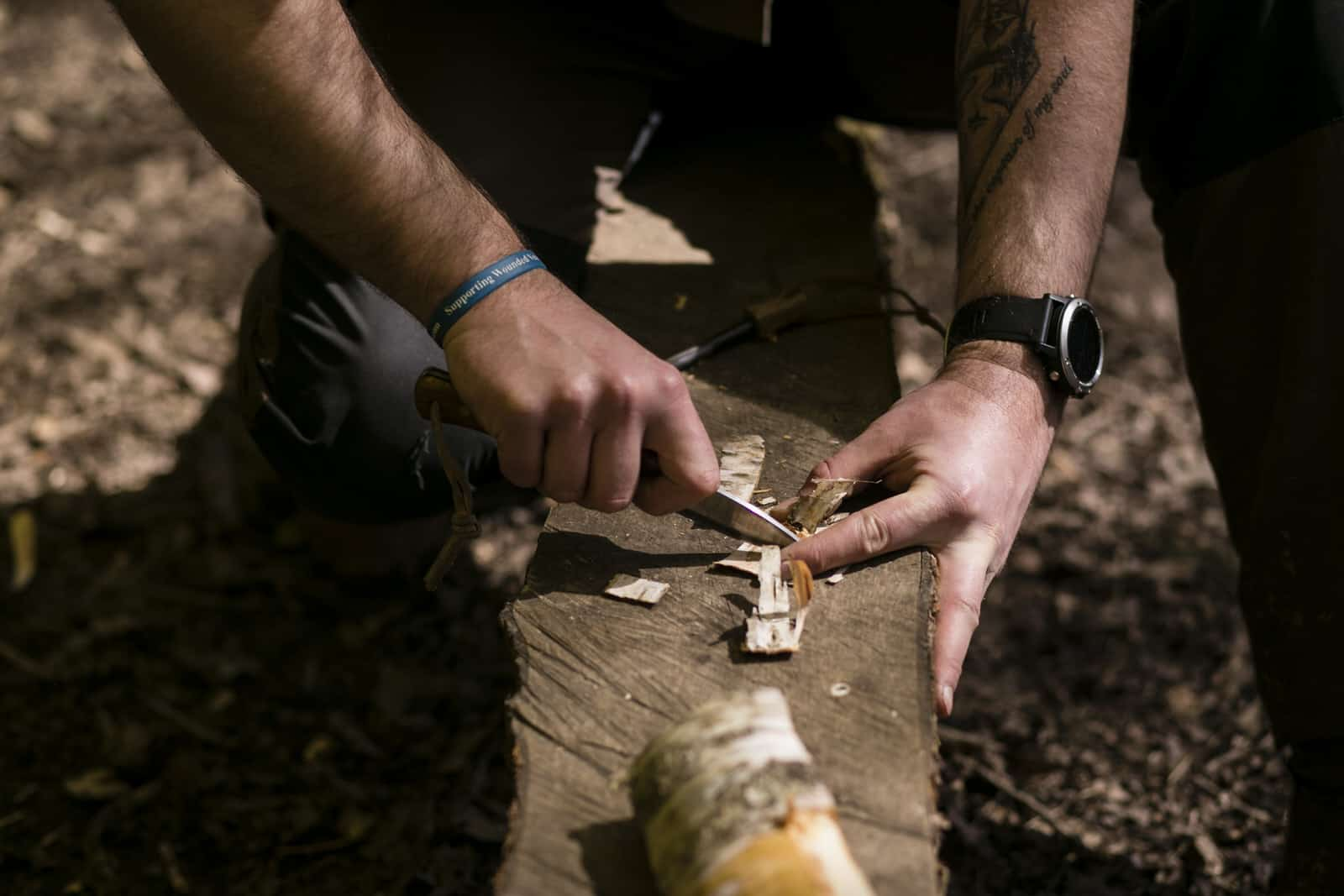 Sharpen your bushcraft knife