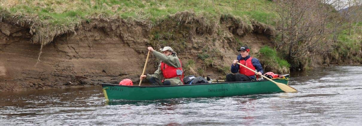 Canoe the river Spey
