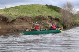 Canoe the river Spey